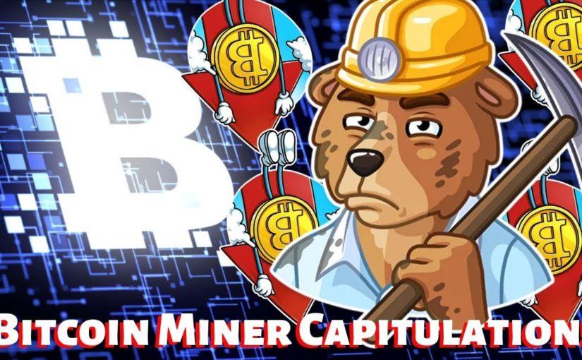 Miner Capitulation (Kapitülasyon) Nedir?